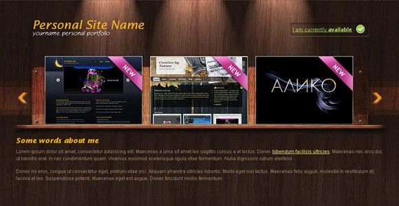 Woody Portfolio - Free Portfolio Template | ChocoTemplates