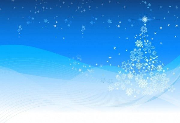 Winter christmas background poster template free vector download ...