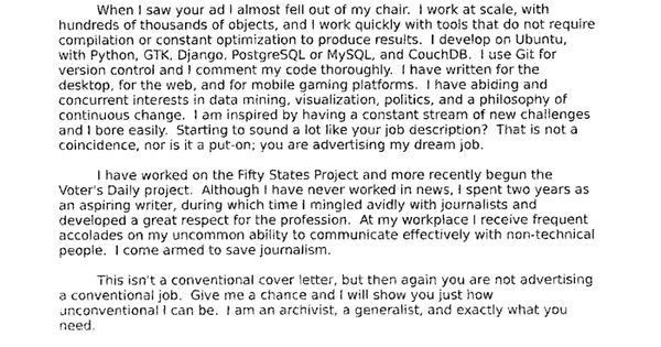 Journalism Cover Letters Journalism Cover Letter Examples Cover - Kick ass cover letter