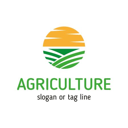 Free Vector Agriculture Company Logo Template for Brand! Buy ...