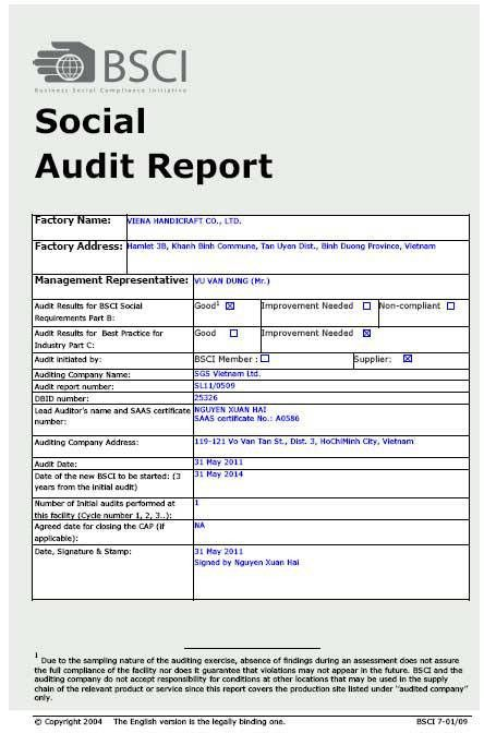 Formal Social Audit Report Format Sample with Grey Background and ...