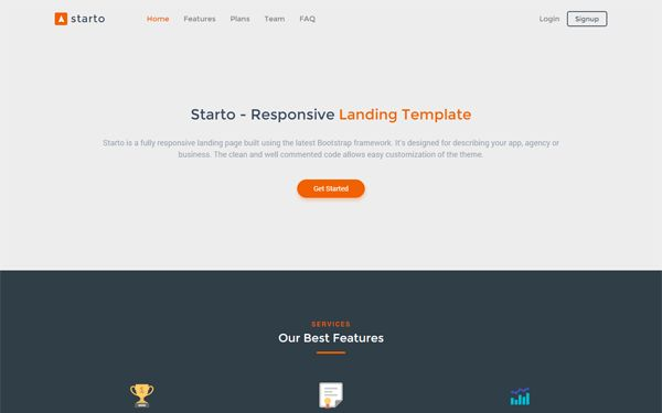 Zodkoo - Landing Page Template   Bootstrap Landing Pages ...