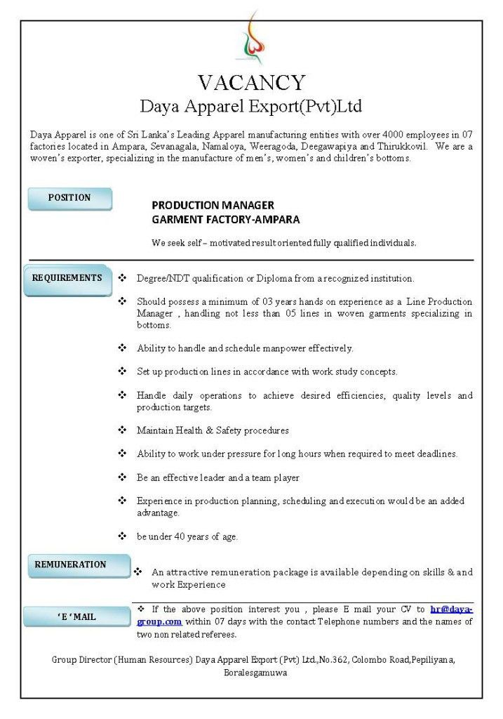 6470_daya apparel production manager-edited – Job Street Lanka