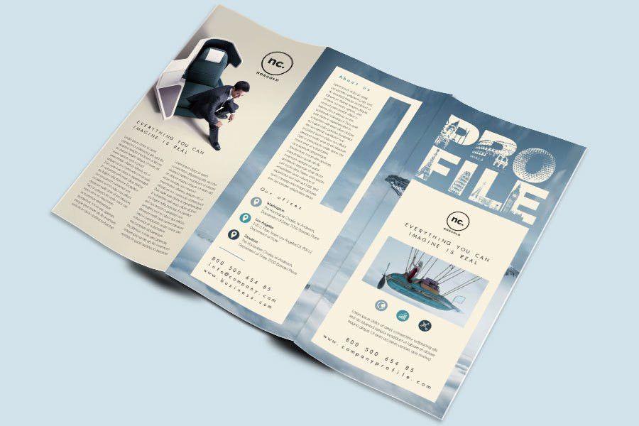 Company Profile Free Template. free vector company profile ...