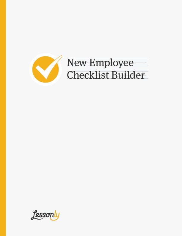 FREE! New Employee Checklist Template Builder - Lessonly + BambooHR