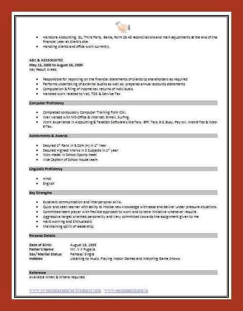 template standard resume layout resume layout 2017 updated ...