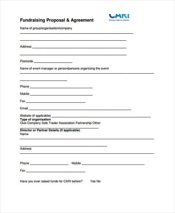 35+ Simple Proposal Templates | Free & Premium Templates