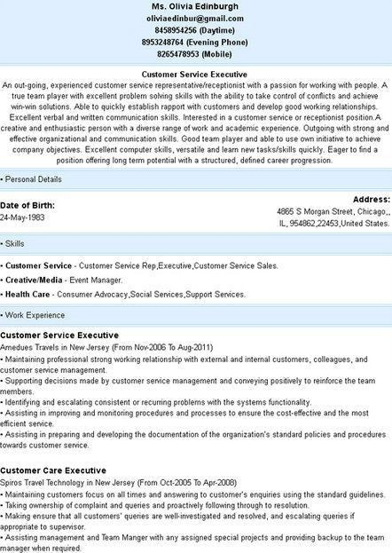 36 best Simple Resume Template images on Pinterest | Simple resume ...