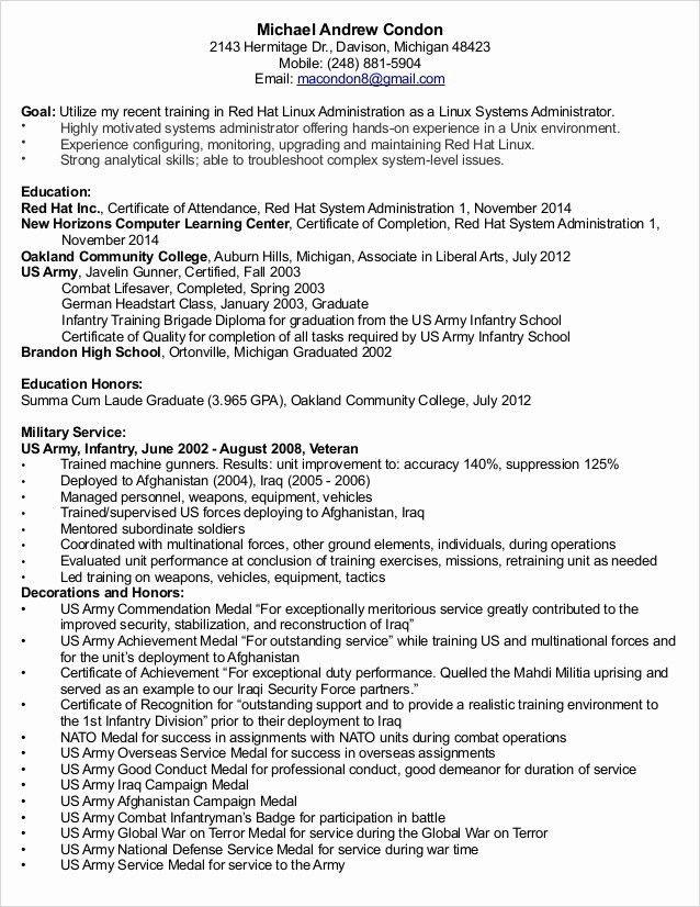 Download Linux Administration Sample Resume   haadyaooverbayresort.com