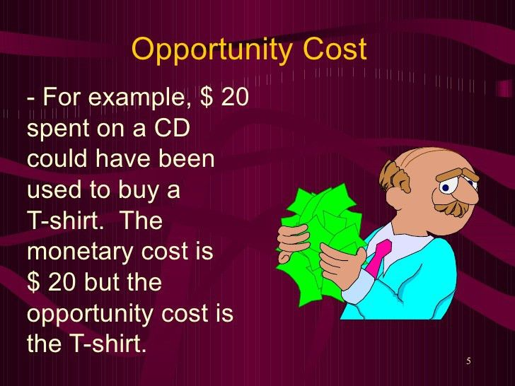 Opportunity Cost.Teacher