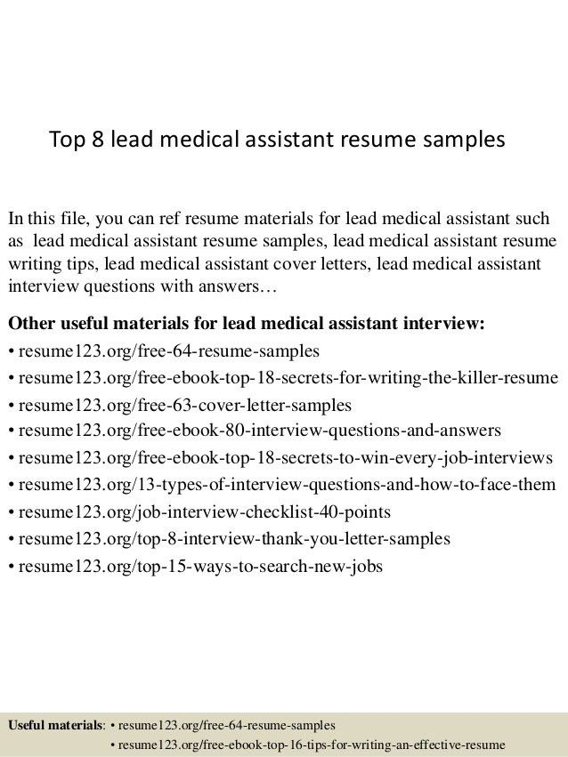 top-8-lead-medical-assistant-resume-samples-1-638.jpg?cb=1437015145