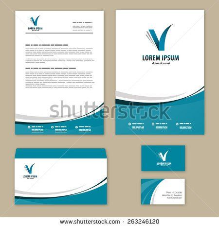 Letterhead Template Stock Images, Royalty-Free Images & Vectors ...