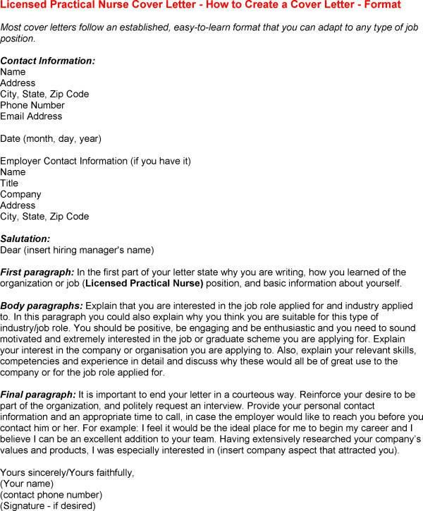 new grad nursing cover letter google search. lpn cover letter ...