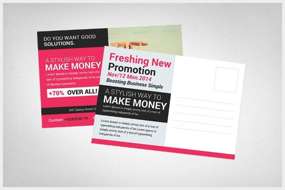 20+ Marketing Postcard Templates – Free Sample, Example, Format ...