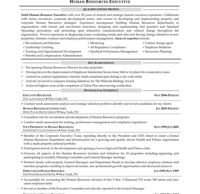 vice president of human resources resume resume sample 20 human