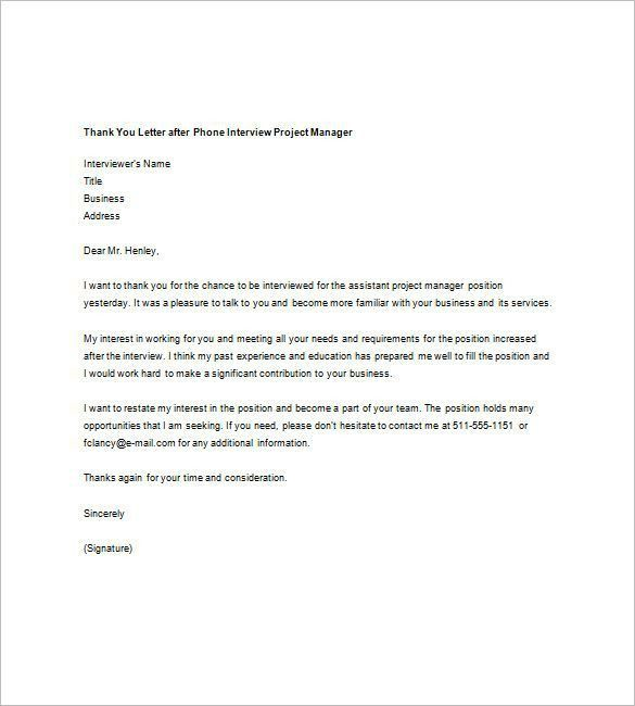 The 25+ best Thank you interview letter ideas on Pinterest