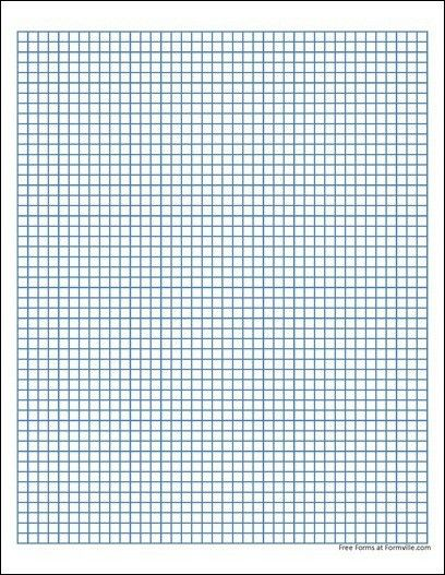 Free Graph Paper (5 Millimeter Heavy Blue) from Formville