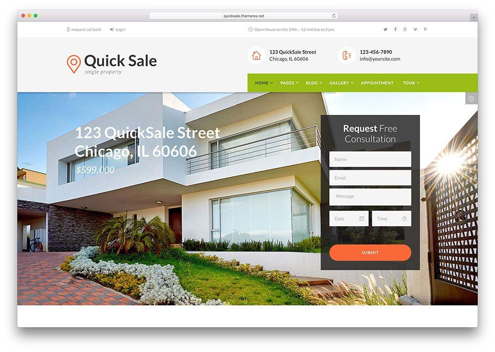 Top 15 Realtor WordPress Themes For Real Estate Websites 2017 ...