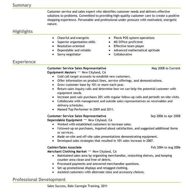 Ingenious Customer Service Resume Examples 15 Unforgettable ...