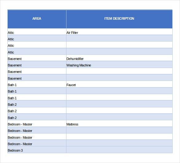 Inventory Database Template – 11+ Free Word, Excel, PDF Documents ...