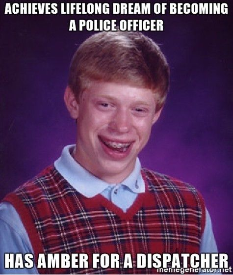 ACHIEVES LIFELONG DREAM OF BECOMING A POLICE OFFICER HAS AMBER FOR ...