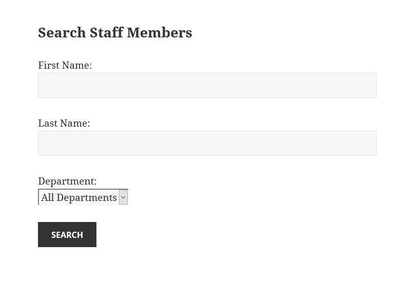 Staff Directory Plugin: Company Directory — WordPress Plugins