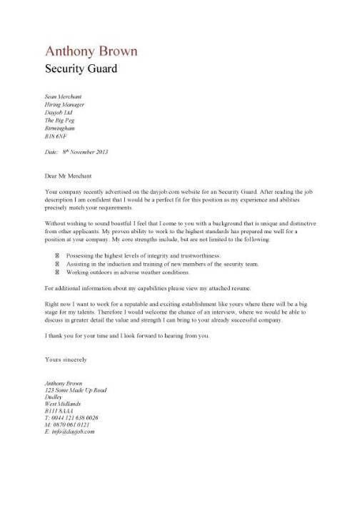 Security officer cover letter no experience & Helpful Essay ...