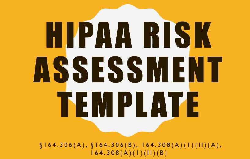 Free HIPAA Risk Assessment Template - Awareness and Training