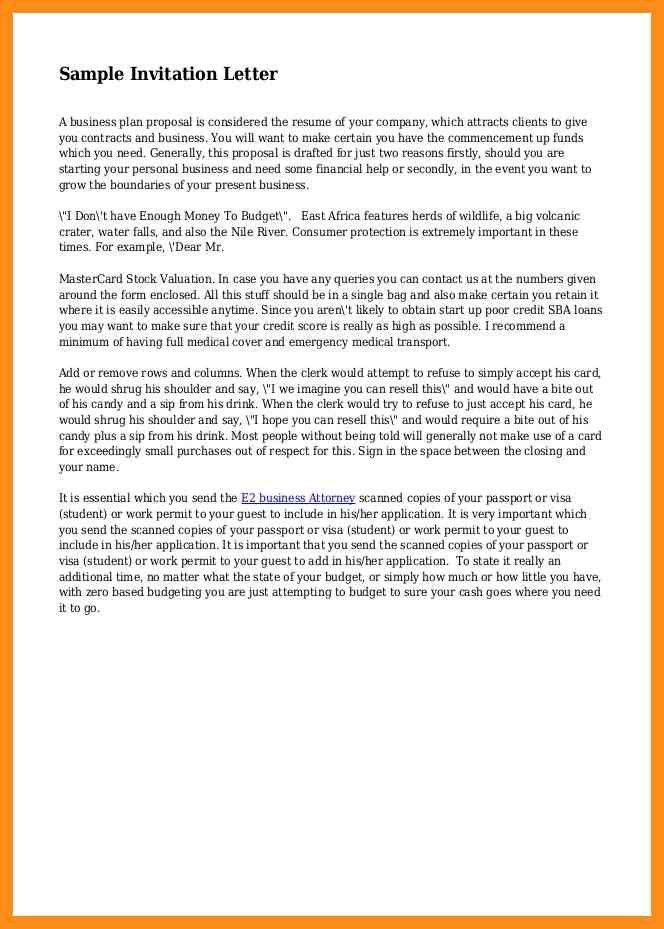 13+ wildlife conference invitation letter model – agenda example