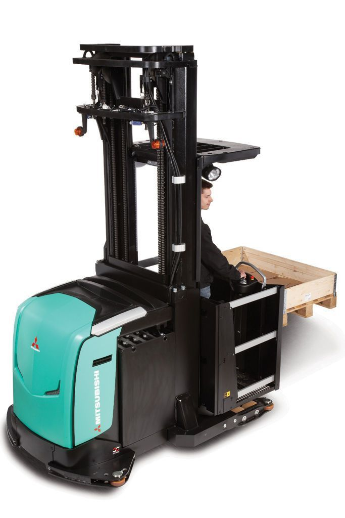 Electric order-picker / vertical / high-level - OPBH10N , OPBH10NH ...