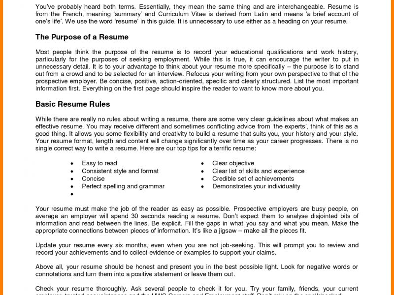 First Resume. job resumes templates first job resume free download ...