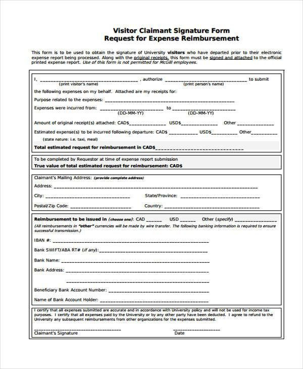23 Expense Report Form Templates