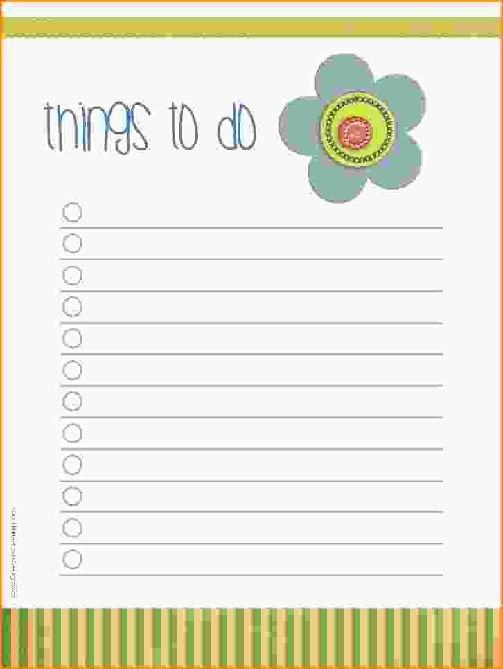 9+ to do checklist template | Loan Application Form