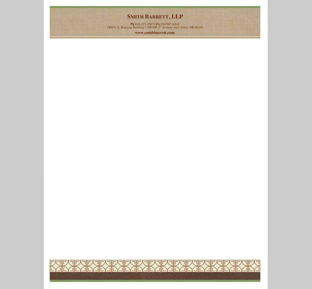 10+ Best Premium Letterhead Design Free Templates | Free & Premium ...