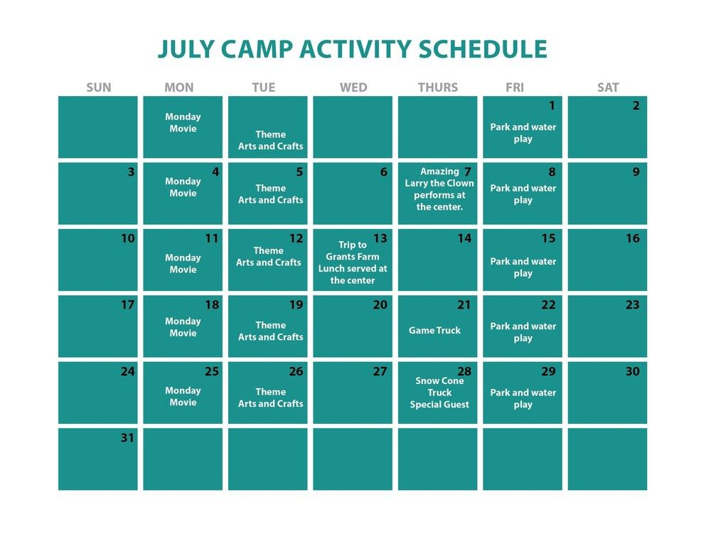 Summer Camp — DayCare and Preschool
