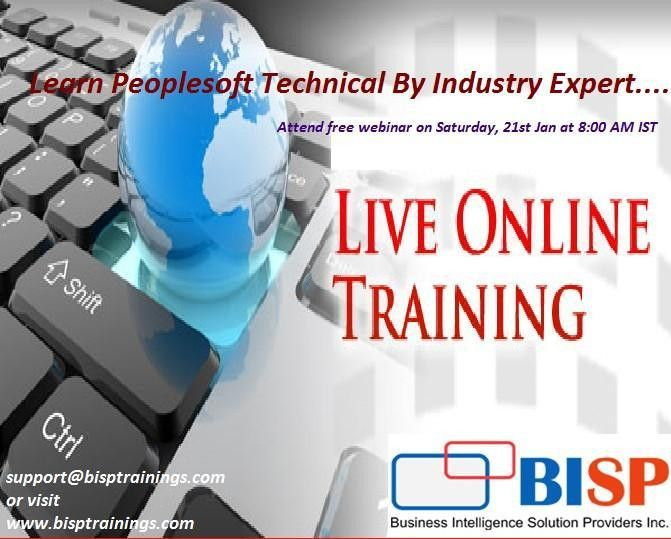 Learn Peoplesoft Technical By Industry Expert, Hyderabad