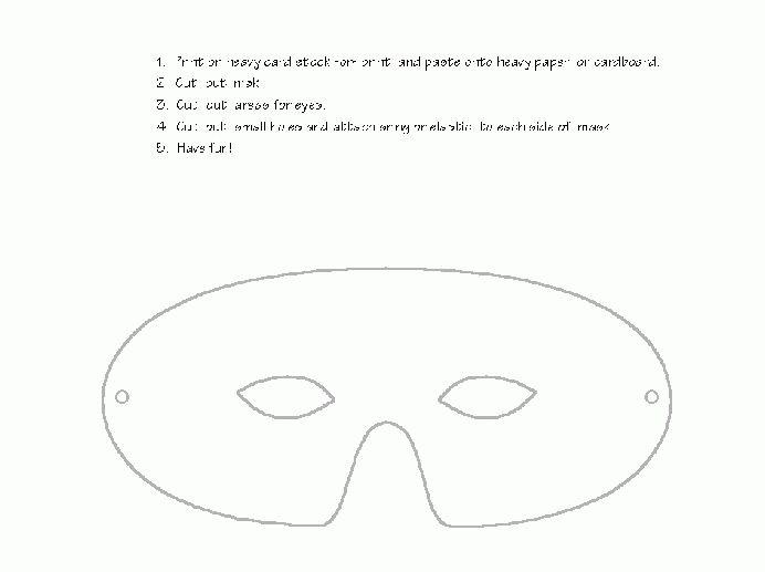 Masks- Printable Animal