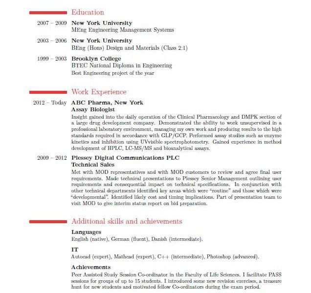 Charming Ideas Best Resumes Format 4 Resume Format 2016. Which One ...