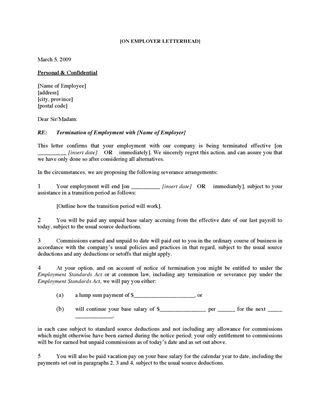 Canada Employment Forms | Legal Forms and Business Templates ...