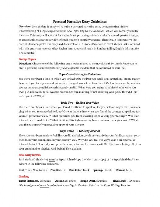 Term Paper Essay Persuasive Essay Example High School How To Write A Good Essay For  English Essays For High School Students also Thesis Statement Generator For Compare And Contrast Essay Personal Narrative Essay Examples High School Narrative Essay  Compare And Contrast Essay About High School And College