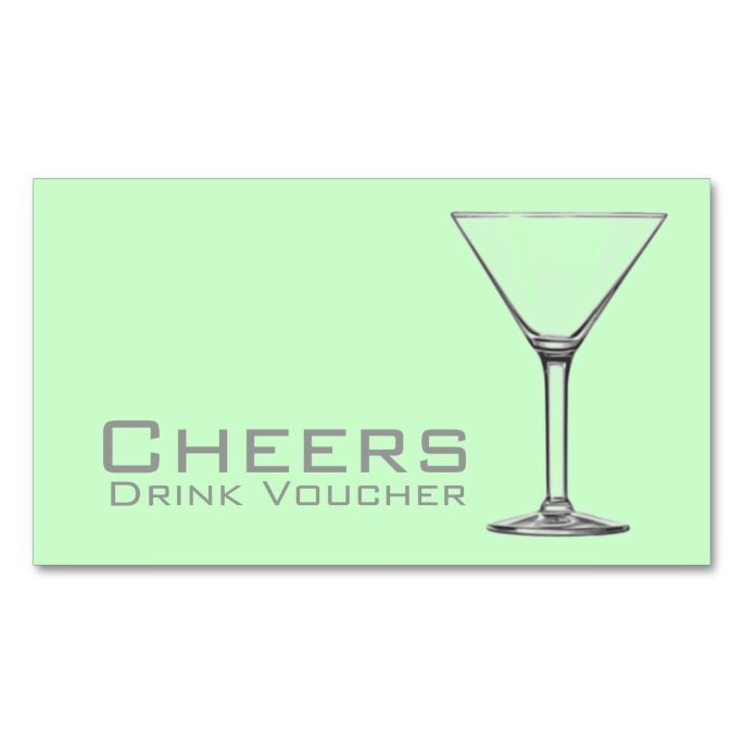1462 best Voucher Card Templates images on Pinterest   Drink ...