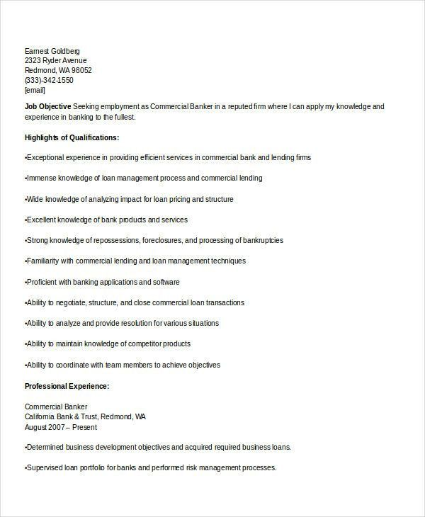 banker resume sample resume example example investment banking