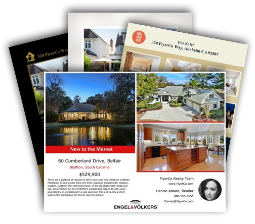 FlyerCo - Create Beautiful Real Estate Flyers to Download, Print ...