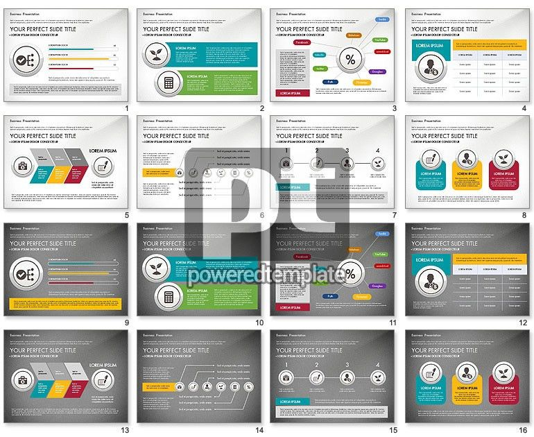 Pitch Deck Modern Presentation Template for PowerPoint ...