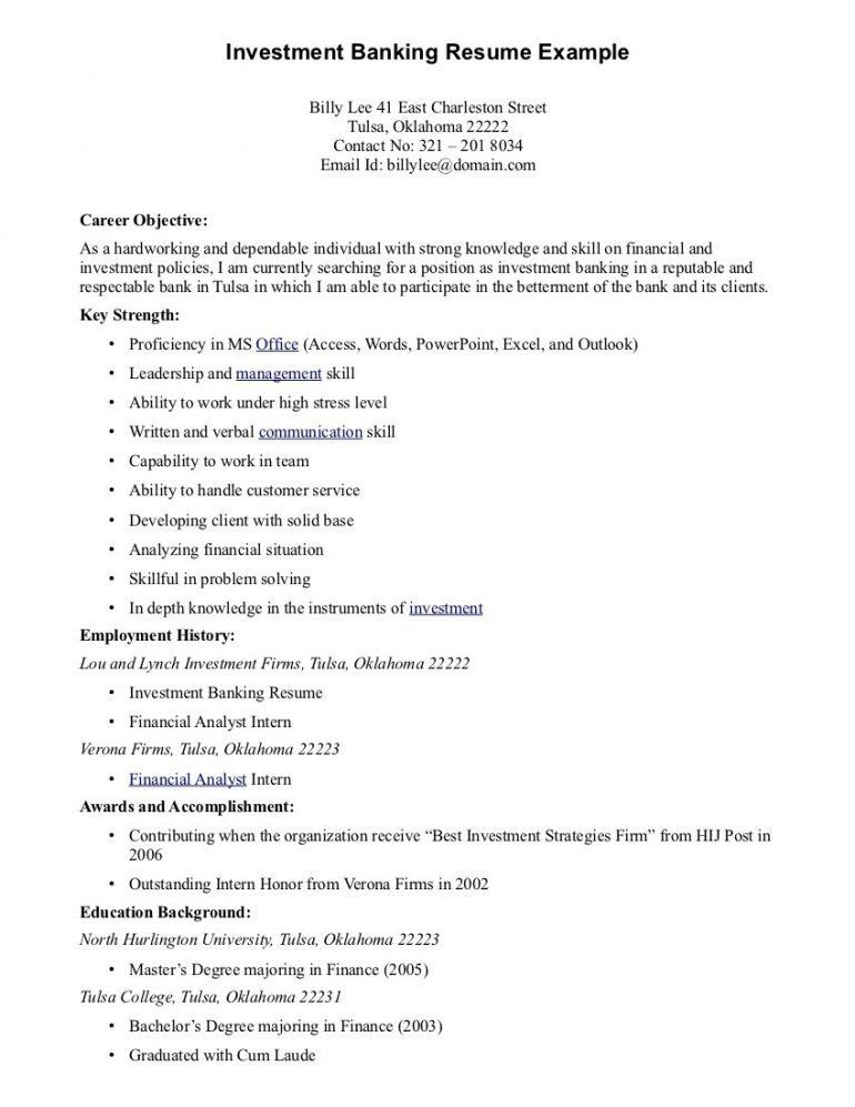Good Objective For Resumes Resume - Schoodie.com