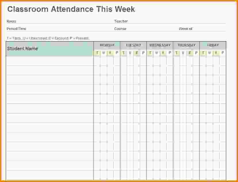 Attendance Sheet Template.Class Attendance Template.jpg - Letter ...
