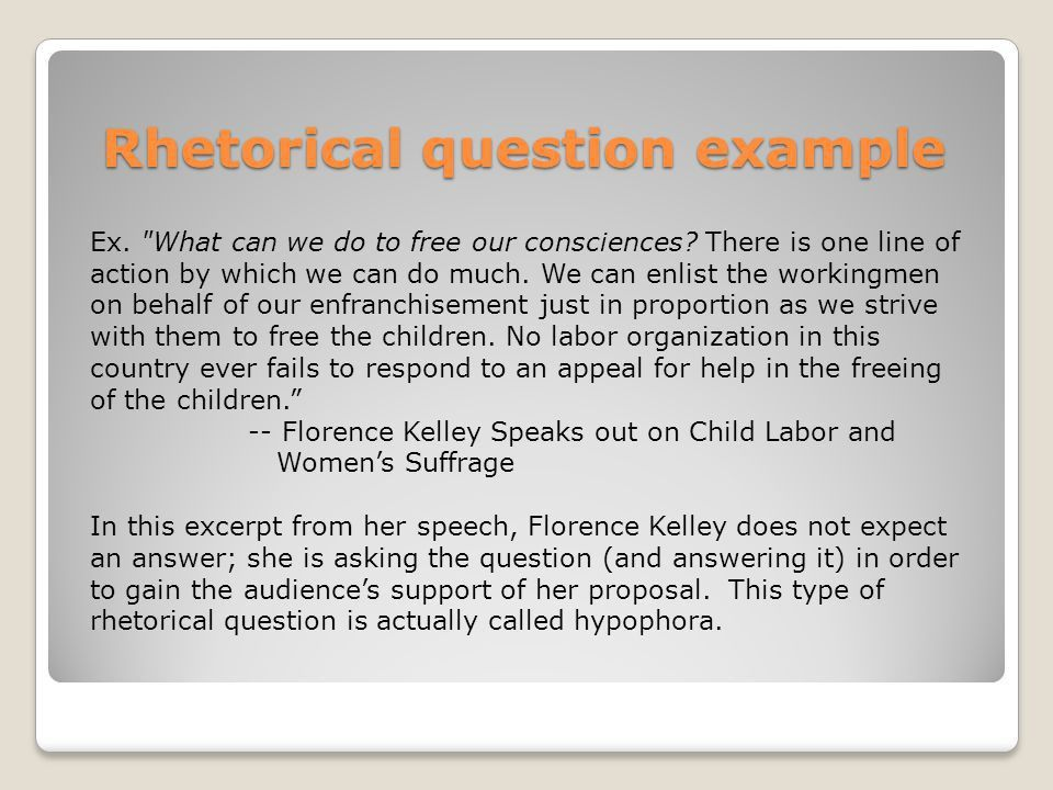 RHETORIC the study or skill of writing or speaking as a means of ...