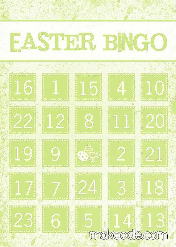 Top 25+ best Easter bingo ideas on Pinterest | Bingo games ...
