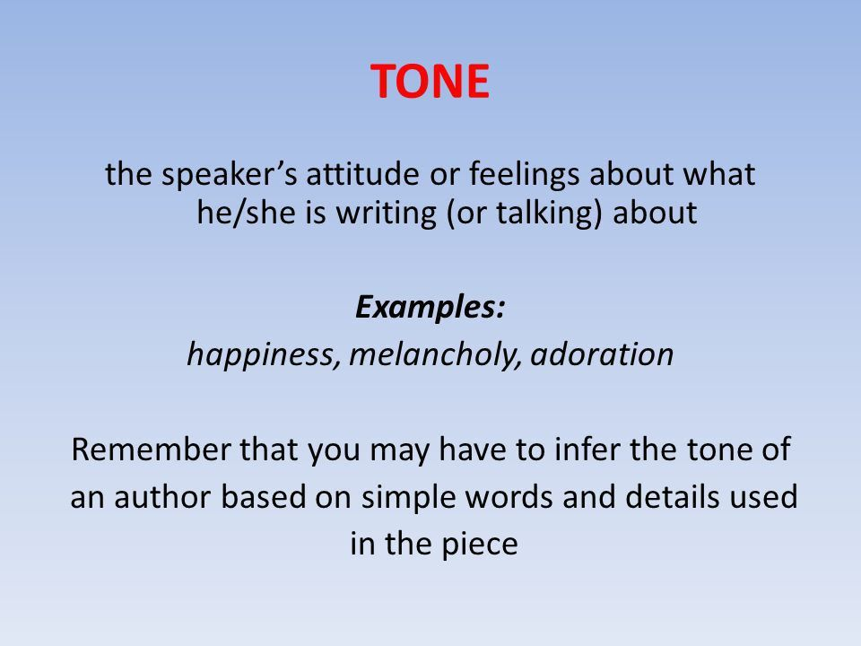 Let's take a look at: TONE and MOOD in POETRY. - ppt video online ...