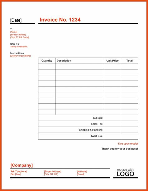 Word Invoice Template.Invoice Template Word.png - Sponsorship letter